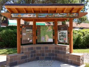 Gilchrist Oregon Kiosk