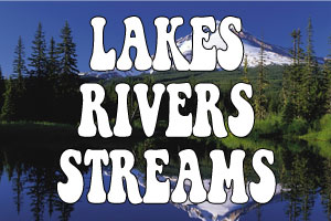 Lakes, Rivers & Streams in North Klamath County