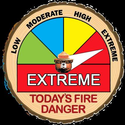 NKC Fire Danger Extreme