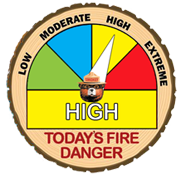 North Klamath County Fire Danger High