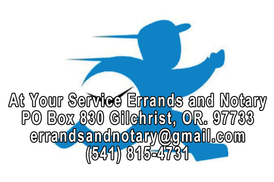 At Your Service Errands and Notary