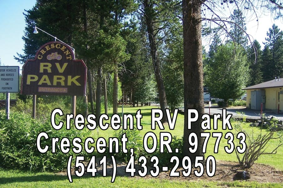 Crescent RV Park in Crescent Oregon