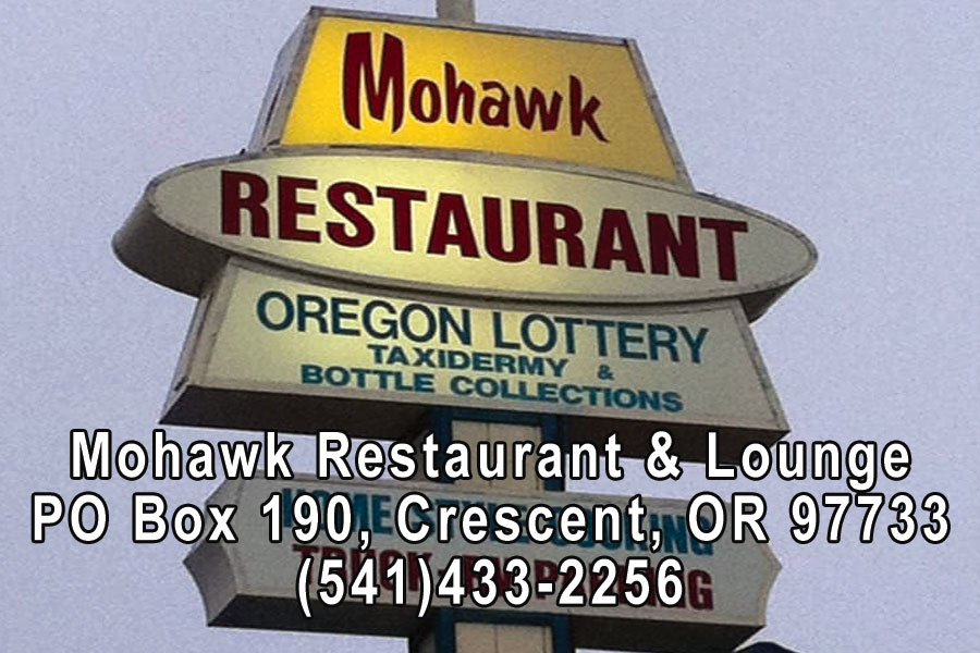 Mohawk Restaurant in Crescent Oregon